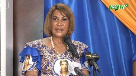 PDCI-RDA: Danièle BONI-Claverie Candidate aux Élections Présidentielles d'octobre 2020
