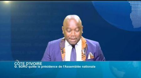 POLITITIA - Côte d'Ivoire : Démission de Guillaume Soro de la présidence du parlement (2/3)