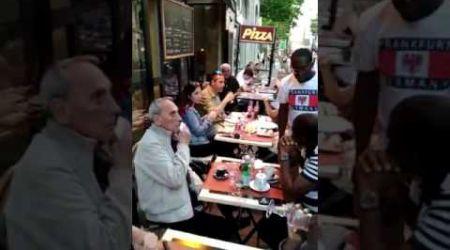 #GABON HUMILIATION DU PÈRE  DE SYLVIA BONGO MR  VALENTIN A PARIS PAR LES PANTHERES ET MARCEAU