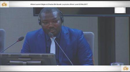 (1ÈRE PARTIE) PROCÈS: Gbagbo et Blé Goudé: 22 Mai 2017,  Ange Tosségba