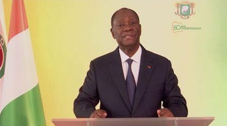 An 60 : Adresse à la Nation du Président Alassane Ouattara