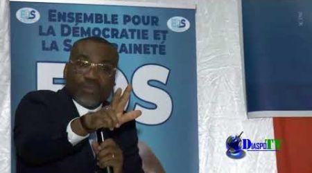 Intervention du Dr Boga Sako à la rencontre EDS et Diaspora ivoirienne  le 23 juin à Montreuil.