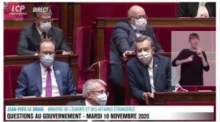La situation de la Côte d'Ivoire débattu au parlement français