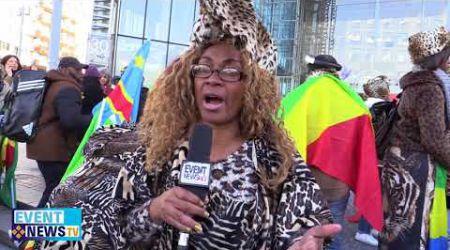 MARCHE DES FEMMES AFRICAINES A PARIS POUR DENONCER LA POLITIQUE AFRICAINE DE MACRON