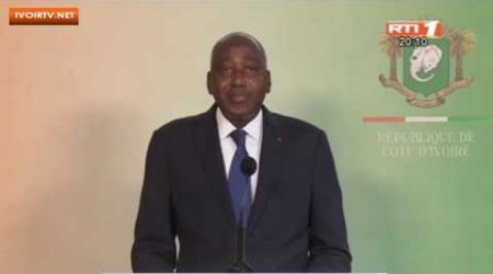Coronavirus: Le point de la situation, intervention du PM. Amadou GON Coulibaly (31 mars 2020)
