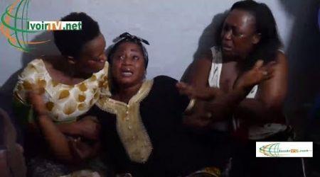 Après la mort de son fiancé assassiné par les gnambros, la veuve du gendarme inconsolable