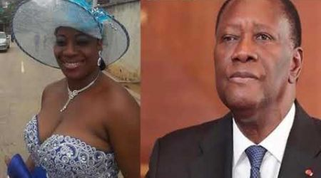 la réaction de Bienvenue Obro suite à la mort de Louise Ouattara, belle fille du président Allassane