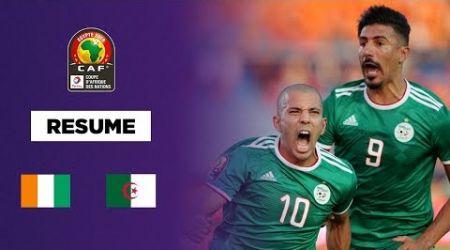 CAN 2019 : L'Algérie élimine la Côte d'Ivoire au terme d'un match complètement fou
