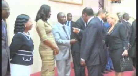 Le Président de la république a quitté Abidjan pour Berlin où il doit rencontrer Mme Merkel