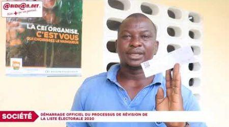 Société : Démarrage officiel du processus de révision de la liste électorale 2020