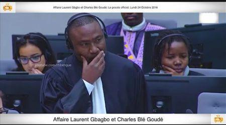 (1ère Partie) PROCÈS: Gbagbo et Blé Goudé: 24 Octobre 2016 Metch Métchro Harold Moise Fabrice
