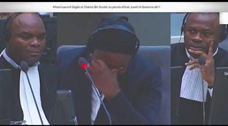 (2ÈME PARTIE) CPI PROCÈS Laurent Gbagbo et Blé Goudé: 04 Décembre 2017, Sira Dramé