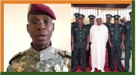 3ème mandat: le Commandant Fofana parle à Ouattara et à l'armeé ivoirienne