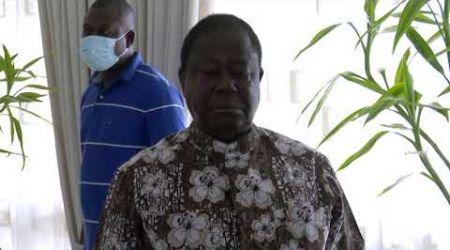 PDCI-RDA : Le Président Bédié observe une minute de silence à la mémoire des martyrs