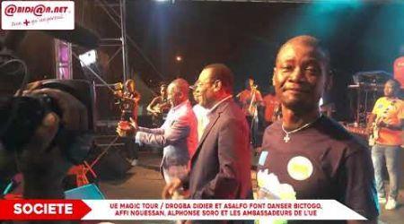 Drogba Didier et Asalfo font danser Bictogo, Affi Nguessan, Alphonse Soro et les ambassadeurs