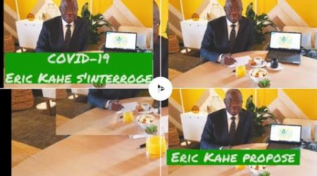 Covid-19 Côte d'Ivoire, Eric Kahe et l'AIRD proposent et interpellent le Gouvernement