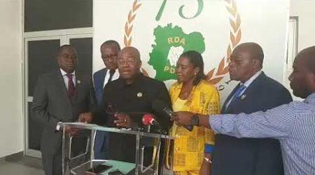 État civil: Le groupe parlementaire PDCI dénonce l'inertie du gouvernement dans la mise en oeuvre