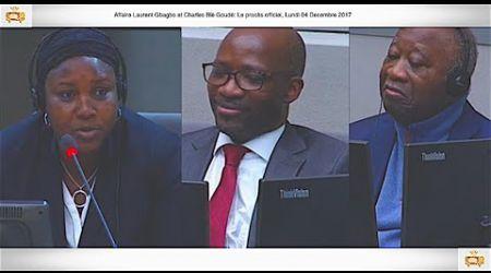 (1ÈRE PARTIE) CPI PROCÈS Laurent Gbagbo et Blé Goudé: 04 Décembre 2017, Sira Dramé