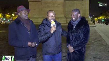 CHRISTIAN VABE & HASSAN NDAM RENDENT HOMMAGE AU SOLDAT INCONNU (JMTV+)