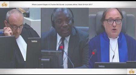 (1ÈRE PARTIE) PROCÈS: Gbagbo et Blé Goudé: 04 Avril 2017, Yaké Evariste