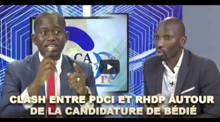 CLASH ENTRE PDCI ET RHDP AUTOUR DE LA CANDIDATURE DE BÉDIÉ