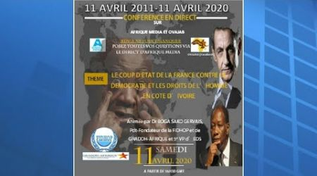 CONFERENCE DU Dr. BOGA SAKO GERVAIS: 11 AVRIL 2020 SUR AFRIQUE-MEDIA ET OVAJAB
