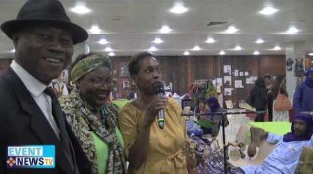 FOIRE INTERNATIONALE AFRI -CARIBEENNE CHRISTIAN VABE PARRAIN DE LA CEREMONIE
