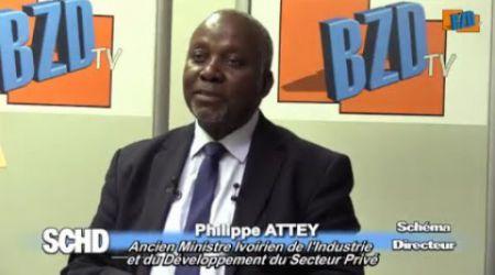 SCHEMA DIRECTEUR: SITUATION SOCIO ECONOMIQUE DE LA CIV AVEC LE MINISTRE ATTEY PHILIPPE