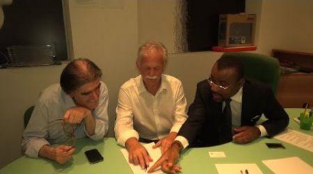 ITALIE ( PARMA) : DES AUTORITES ITALIENNES SIGNENT LA PETITION LAURENT GBAGBO