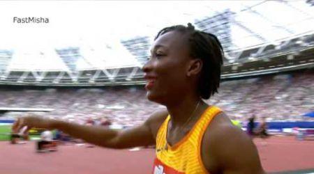London Diamond Leauges 2016 : TA LOU Marie-Josée defeats Shelly Ann Fraser Pryce in 100m Final