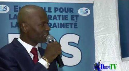 Intervention de Mr Pascal Logbo à la rencontre EDS et la Diaspora ivoirienne le 23 juin à Montreuil.