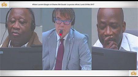 (1ÈRE PARTIE) PROCÈS: Gbagbo et Blé Goudé: 29 Mai 2017, Até kloosterman