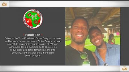 Samuel Eto'o Visite Didier Drogba 'Fondation' à Abidjan, 1er Janvier 2017