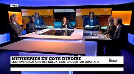 Mutinerie en Côte d'Ivoire : des enjeux politiques derrière l'agitation militaire ? (Partie 1)