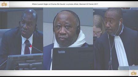 (1ÈRE PARTIE) PROCÈS: Gbagbo et Blé Goudé: 22 Février 2017, Brédou M'Bia