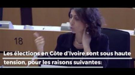 Présidentielle:3e mandat,exclusion de l'opposition, arrestations :une députée européenne se prononce