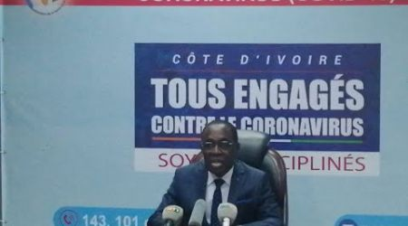 Côte d'Ivoire/ Coronavirus: Le point de la situation (01 Avril 2020)