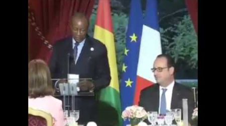 Le président Alpha Condé sur les traces de Sankara