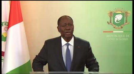 Côte d'Ivoire : Le Président Alassane Ouattara adresse ses vœux à la Nation