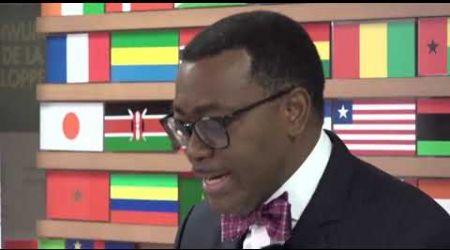 Afrique, AKINWUMI ADESINA INVESTI PRÉSIDENT DE LA BAD