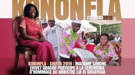 ALLOCUTION DE MADAME SIMONE EHIVET GBAGBO AUX POPULATIONS DE KONONFLA