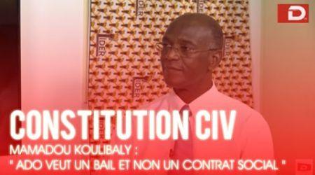 """Constitution ivoirienne/Mamadou KOULIBALY : """" ADO veut un bail et non un contrat social """""""