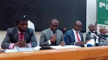 Conférence de presse des avocats du maire du plateau Ehouo J.Jacques pour sa non investiture.
