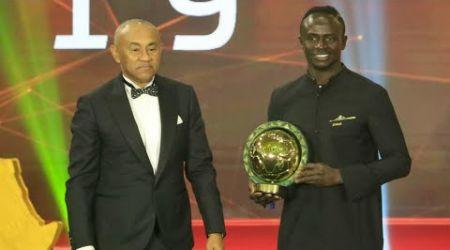 Le Sénégalais Sadio Mané élu joueur africain de l'année 2019