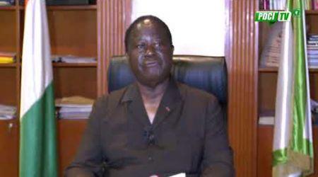 PDCI-RDA:Le Prtésident Bédié s'adresse à la nation ivoirienne en propôsant un dialogue national