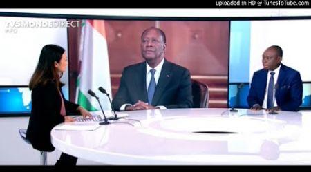 """3eme mandat/ KKB a Ouattara """"quand on est chef d'Etat, on sait quand meme compter jusqu'à deux"""""""