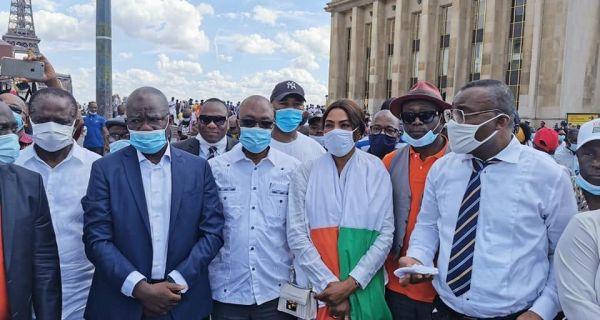 Diaspora : Plusieurs milliers d'ivoiriens marchent à Paris contre un 3e  mandat de Ouattara | Ivoirebusiness.net