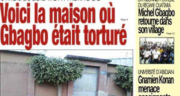 Maison de Gbagbo Voici la Maison ou Gbagbo