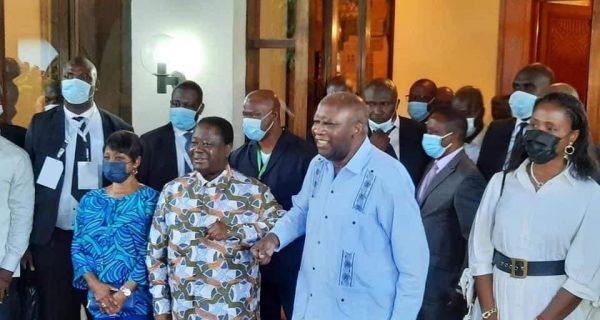 Côte d'Ivoire: Laurent Gbagbo chez Bedié à Daoukro, trois mois après son acquittement définitif par la CPI   Ivoirebusiness.net