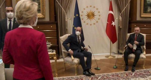 L'affront fait à la présidente de la Commission européenne — Turquie